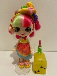 Shopkins Shoppies DONATINA Doll- World vacation BFF Travel- Excellent condition