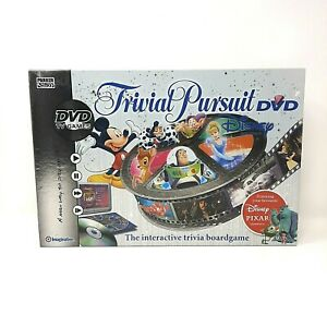 Trivial pursuit DVD Disney Edition 100% complete