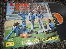 LOS DEL CARMEN El Cadiz por 1ª Division LP 1977 FLAMENCO RUMBAS