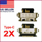 2X Alcatel Joy Tab2 9032 9032Z C Type USB Charger Charging Port Dock Connector