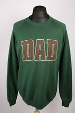 Vintage Wisconsin Dad USA College Sweatshirt | Fits L | Retro Varsity American