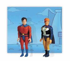 DC POCKET SUPER HEROES SERIES 1 2002 MON-EL & LIGHTNING LAD