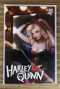 Harley Quinn #1 *Warren Louw* Trade Dress Variant 2021! Punchline Joker DC NM!
