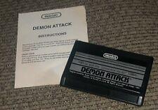 Commodore VIC-20 DEMON ATTACK Video Game Cartridge IMAGIC w ORIGINAL MANUAL