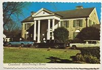 Real Photo Postcard RPPC Graceland Memphis Tennessee Elvis Presley's Home 1977