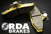 RDA Brakes Extreme Brake Pad Set Rear RDX1397SM FOR BMW X Series X3 2.0d (E8...