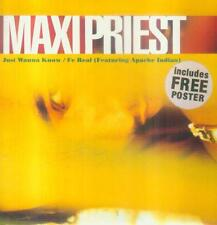 """7"""" Maxi Priest/Just Wanna Know (UK - Poster)"""
