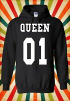 Queen Or King His And Hers Valentine Men Women Unisex Top Hoodie Sweatshirt 1531