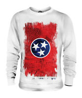 TENNESSEE STATE GRUNGE FLAG UNISEX SWEATER TOP TENNESSEAN SHIRT JERSEY GIFT