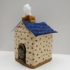 House Shaped Tissue Box Cover