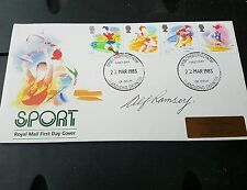 Alf Ramsey World Cup 1966 Sport Signed FDC