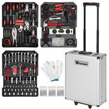 799 pièces Mallette à outils trolley valise boite à tire caisse aluminium chrome