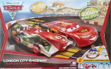 Disney Pixar Cars 2 London City Raceway Mattel Hot Wheels Tyco Slot Car Race Set