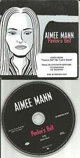 AIMEE MANN Pavlov's bell  CARD SLEEVE Europe Made PROMO DJ CD single USA seller