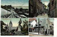 Quebec Old around 1909-1916 Postcards Lot of 7, Used and Unused -See description