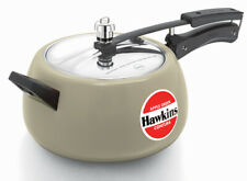 Hawkins Ceramic-Coated Contura 5 Ltr Apple Green Pressure Cooker  CAG50