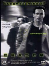 ERASER (Arnold SCHWARZENEGGER Vanessa WILLIAMS James CAAN) ACTION DVD Region 4