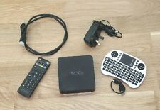 MXQ Android TV Box with Remote Control, HDMI Cable & Mini Keypad
