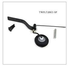 Carbon Fiber Tail Wheel Set w/ 30mm Sponge Wheel For 20CC Gas RC Airplane
