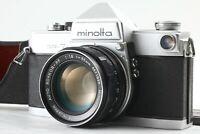 【EXC+++++】Minolta SR-7 Camera, Auto Rokkor-PF 55mm Lens from JAPAN#U16【Free Ship