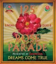 """125Th Anniversary Rose Parade Official 2014 Themed """"Dreams Comes True"""" Poster"""