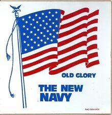 Sticker autocollant The New Navy Old Glory drapeau américain USA Etats Unis