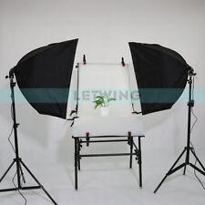 2X150W Continuous Lighting Kit Softbox Set Photo Studio Energy-saving light bulb