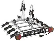 Spring SALE ! Titan 4 Bike Rack / Cycle Carrier Towbar Mounted Tilting 7pin plug