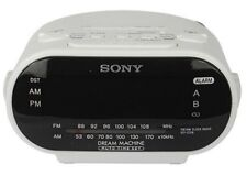 "SONY Alarm Clock Radio Hidden DVR Spy Motion Detection Camera 1/3"" CMOS 1080p HD"