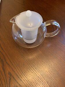 Bodum Assam Tea Press 1L with Infuser White - NEW