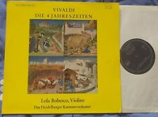 VIVALDI - The 4 Seasons LOLA BOBESCO Da Camera Magna LP