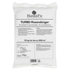 HaGaFe TURBO Rasendünger mit 30 % Stickstoff Spezialdünger Dünger - 120 Tage LZW