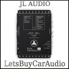 JL AUDIO FIX-86 OEM ADD ON DSP, AUTO TIME CORRECTION, DIGITAL EQ, 6 CH OUTPUT
