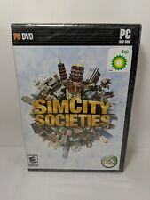 Sim City Societies PC Game Sealed 2007 big box