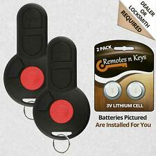 2x Car Transmitter Alarm Remote for 1993 1994 1995 1996 1997 1998 1999 VW Golf