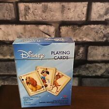 Disney Playing Cards Cardinal Dumbo Peter Pan Pinocchio Bambi Simba Alice Baloo