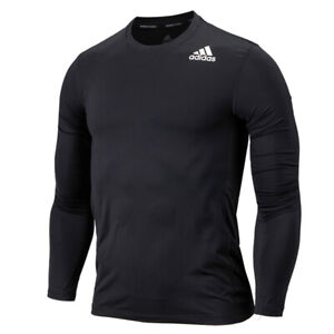 Adidas Techfit Fitted Long Sleeve Tee Black GM5039