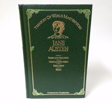 Treasury Of World Masterpieces Jane Austen Complete Unabridged Green Hardcover