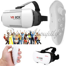 VR BOX Virtual Reality 3D Glasses Bluetooth Game Remote Control For Phone Iphone