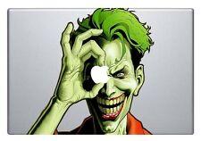 Macbook 13 inch decal sticker Joker holds apple apple art for Apple Laptop