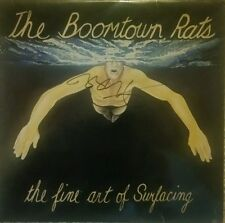 The Boomtown Rats LP, hand signed in person by 'Sir Bob Geldoff'.