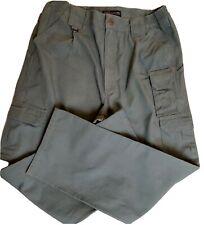 5.11 511 Mens Tactical Cargo 100% Cotton Pants Green 34x36 7 Pocket  74251