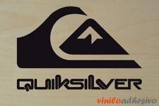 Sticker Sticker Vinyl Quiksilver Ref.1 Quicksilver Autocollant Aufkleber