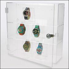 SAFE Acryl Vitrine abschliessbar,transparent, 320x320x110 mm ( 5247 )