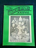 1948 AMERICAN ANTIQUES JOURNAL Indian arrowheads Folk Art Paintings Card Cases