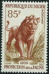 NIGER - 1959 WILD ANIMALS 85f 'BROWN & BISTRE'  MNH SG111 [A3011]