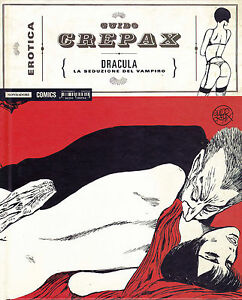 CREPAX : collana EROTICA n°  9 - DRACULA - ed. Mondadori  SCONTO 50%