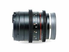 SONY ALPHA E-MOUNT WALIMEX PRO 1,3 50 mm VCSC OVP HÄNDLER CINE LENS VIDEO APS-C