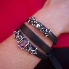 GENUINE Alchemy Gothic Bracelet - Pirate Princess Leather Strap | Ladies Fashion