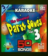 CHARTBUSTER KARAOKE CDG  PARTY HITS  3  (5012R)  3 DISC BOX SET  50 TRACKS   NEW